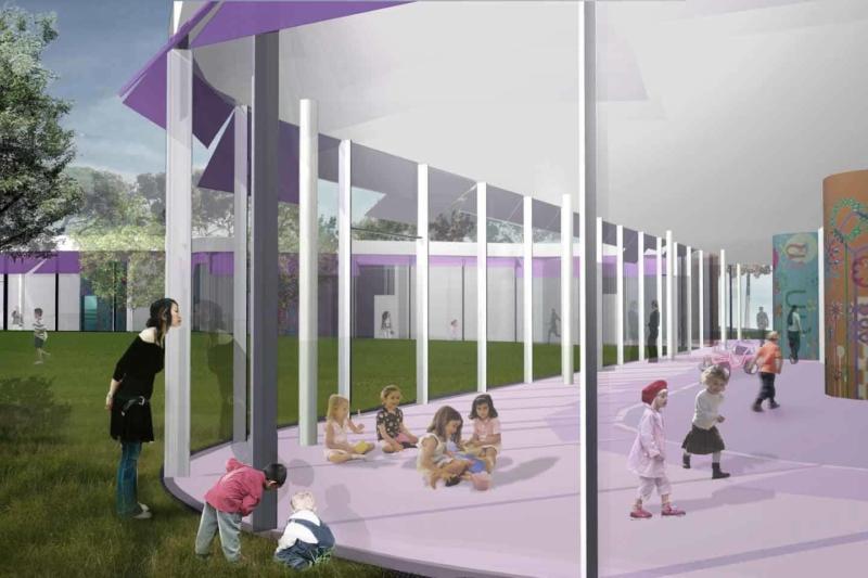 Fabrizio Fiorentino Architecture - Prato - Construction d'une crèche