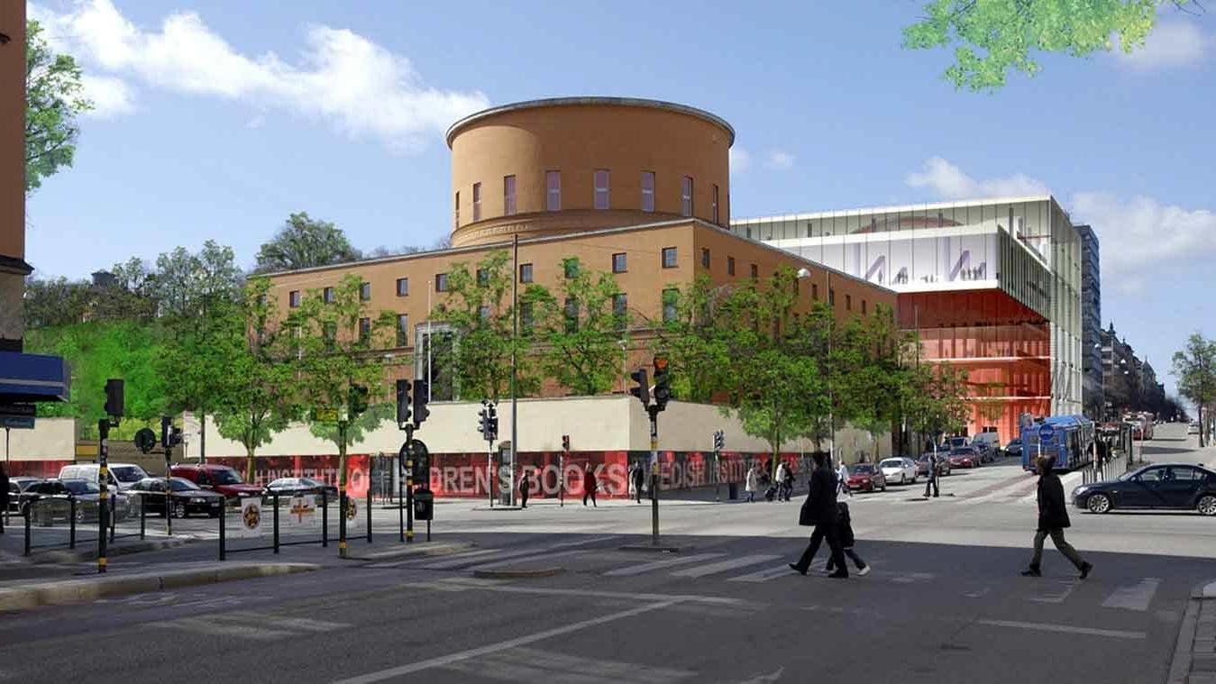 Fabrizio Fiorentino Architecture - Stockholm - Bibliothèque publique