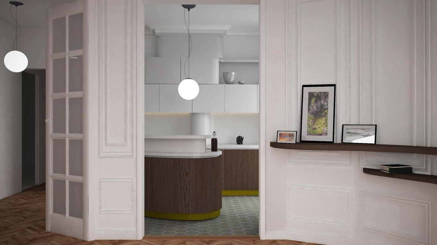 Fabrizio Fiorentino Architecture - Paris 16