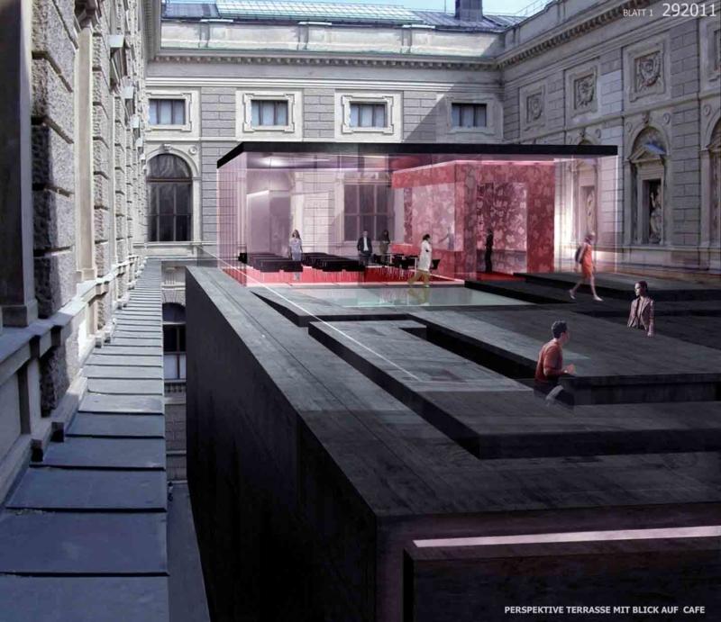 Fiorentino Architecture - VIENNE - Extension Kunsthistorische Museum